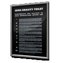 Gravity, Instructions, Safety, Toilet, Zero Icon