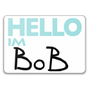 Bob, Hello, Im Icon