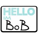 Bob, Hello, Im Icon