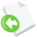 File, Import Icon
