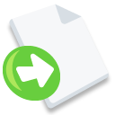 Export, File Icon