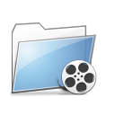 Copy, Folder, Videos Icon