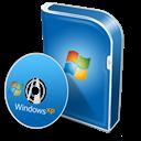 Box, Disc, Professionnel, Winxp Icon