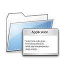 Apps, Copy, Folder Icon