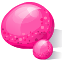 Drop, Pink Icon