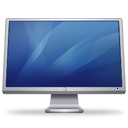 Blue, Cinema, Display Icon