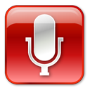 Microphonenormalred Icon