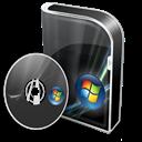 Box, Disc, Ultimate, Vista Icon