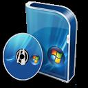 Box, Business, Disc, Vista Icon