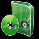 Box, Disc, Home, Premium, Vista Icon