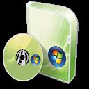 Basic, Box, Disc, Home, Vista Icon