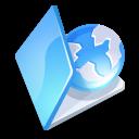 Blue, Folder, Web Icon