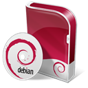 Box, Debian, Disc Icon