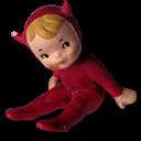 Boy, Devil Icon