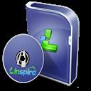 Box, Disc, Linspire Icon