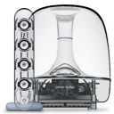 +, Harman, Ii, Kardon, Soundsticks, Speakers Icon
