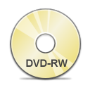 Copy, Dvd, Rw Icon