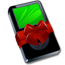 Black, Gift, Ipod Icon