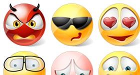 Vista Style Emoticons
