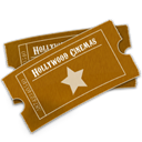 Hollywood, Ticket Icon