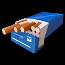 Blue, Cigarretes Icon