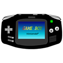 Advance, Black, Gameboy, Icon Icon