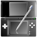 Black, Ds, Icon, Nintendo, Pen, With Icon