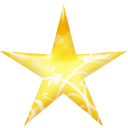 Gold, Star Icon