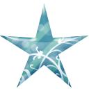 Blue, Star Icon