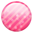 Button, Pink Icon