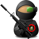 Sniper, Soldier, Weapon, With Icon