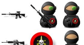 Elite Soldiers Icons