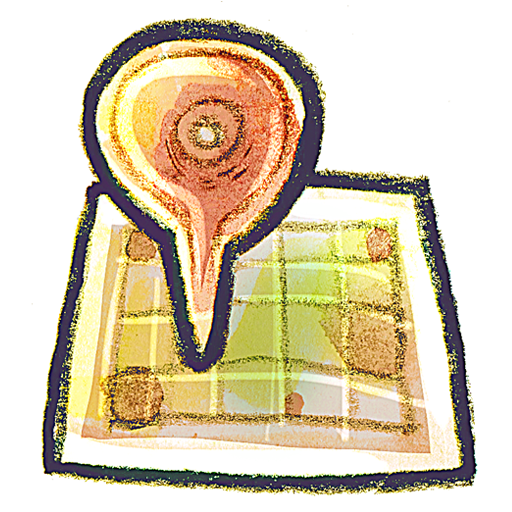 g, Map Icon