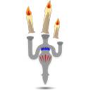 Candles, Floating Icon