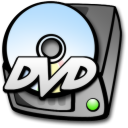 Dvd, Harddrive Icon