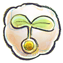 Flower, g, Seed Icon