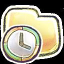 Folder, g, Time Icon