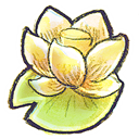 Flower, g, Lotus Icon