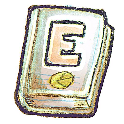 Ebook, g Icon