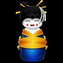 Blue, Korea Icon