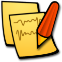 Stickies, Write Icon