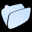 Folder, Lightblue Icon