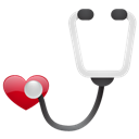 No, Sh, Stethoscope Icon