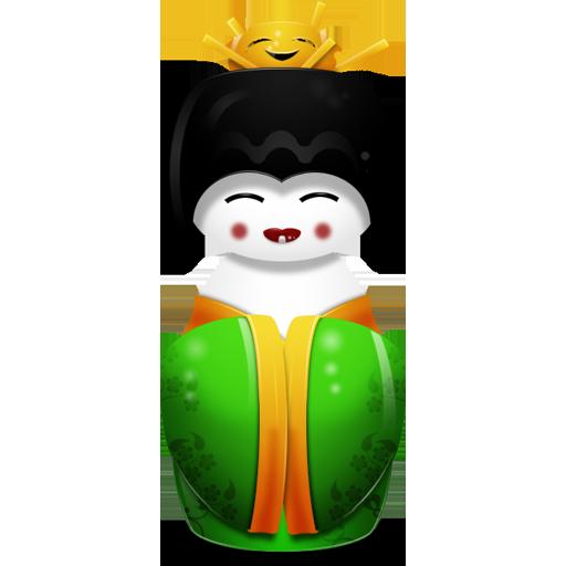 China, Green Icon