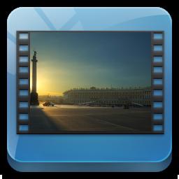 Library, Videos Icon