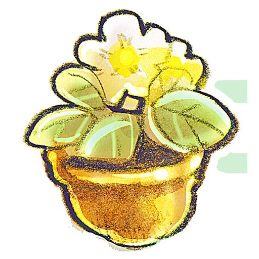 Flower, Flowerpot, g Icon