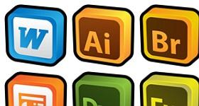 3D Cartoon Addons Icons