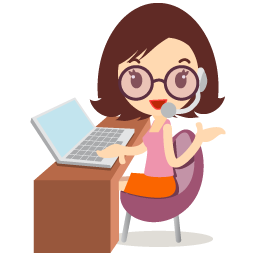 Callcenter Girls Glasses Icon Download Free Icons