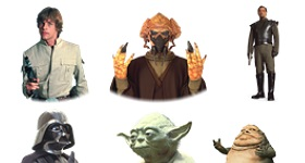 Star Wars Characters Icons