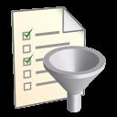 Filter, List Icon
